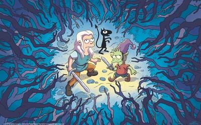 Tvorca Simpsonovcov a Futuramy vytvoril bláznivý fantasy seriál. Nechýba v ňom alkohol, elfovia a boje s príšerami