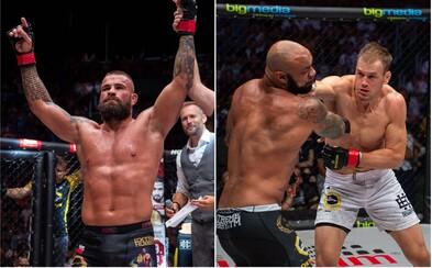 Tvrdá dominance Karlose Vémoly a boje veteránů UFC. Oktagon 13 do Prahy přinesl další obří show