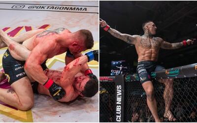 Tvrdé rany, krásne ženy a špička domácej MMA scény. Veľkolepý galavečer Oktagon 5 ponúkol opäť strhujúcu šou