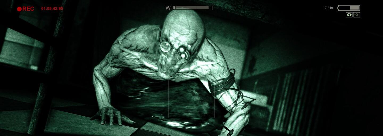Tvůrci hororovky Outlast vybírají peníze na pleny pro hráče, kdyby se náhodou u hraní druhého dílu posrali