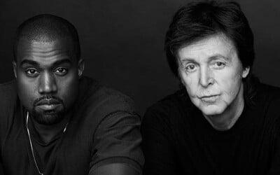 Twitter chváli Kanyeho Westa za objavenie nového talentu menom Paul McCartney