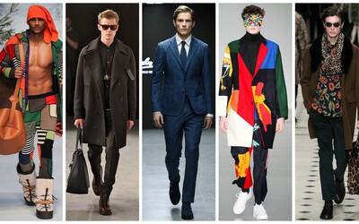 Ty nejzajímavější runway outfity z londýnské módní události London Collections: Men