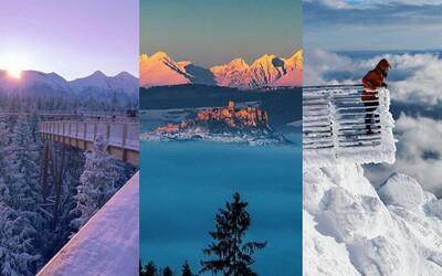 Týchto 10 čarovných miest na Slovensku sneh premenil na rozprávkovú krajinu. Slováci svojimi fotkami očaria aj teba