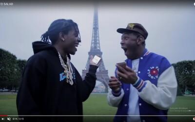 Tyler, The Creator a A$AP Rocky sa pripomínajú old schoolovou skladbou, ktorú produkoval Kanye West