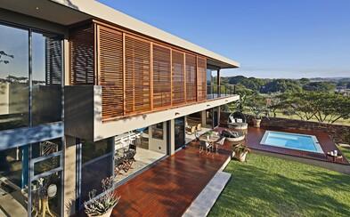 Tým světových architektů zašel až do africké savany, kde vyrostla exkluzivní vila s odvážným designem
