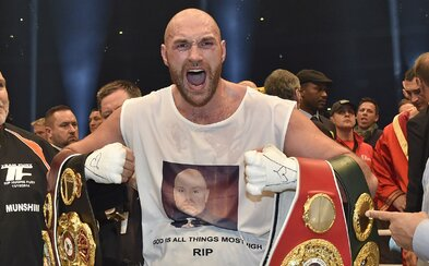 Tyson Fury je favoritem na vítězství titulu pro sportovní osobnost roku