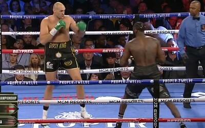 Tyson Fury poráží v boxerském megazápase Deontaye Wildera a stává se novým šampionem organizace WBC