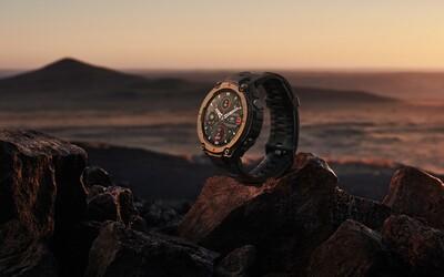 Tyto chytré vojenské hodinky zvládnou extrémní teploty od -40°C do 70 °C a vydrží nabité 18 dní