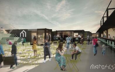 U Masarykova nádraží vznikne kulturní tržiště, kde nebudou brát hotovost. Do mrtvého místa vnese kulturu, street food i knihkupectví