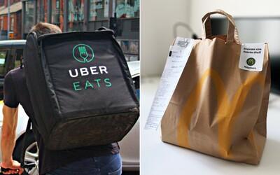 Uber Eats se v Praze spojuje s McDonald's a přináší zajímavé novinky. Rozvoz jsme vyzkoušeli na vlastní kůži