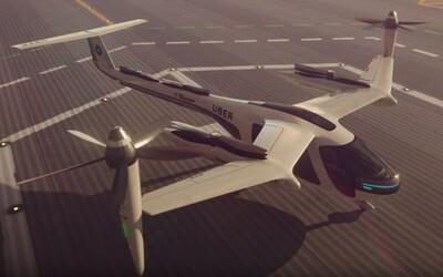 Uber spustí projekt létajících taxi do roku 2020. Dostupný má být i pro širokou veřejnost