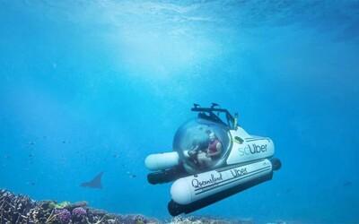 Uber začal ponorkami vozit lidi kolem Velkého bariérového útesu