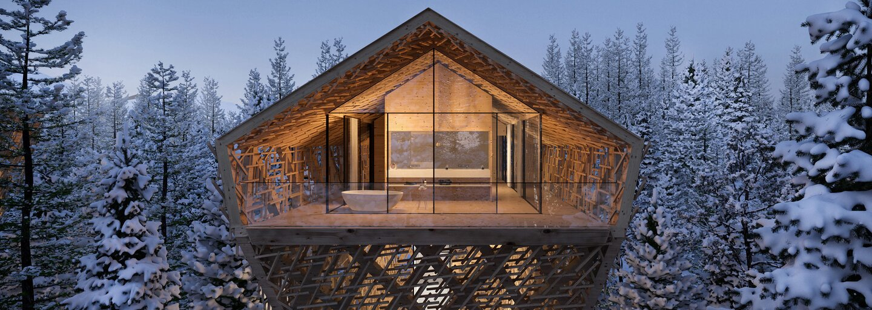 Ubytovanie v korunách stromov, ktoré posúva hranice luxusu a výnimočnosti na nový level