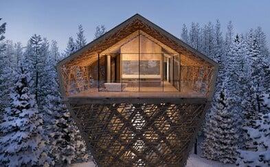 Ubytování v korunách stromů, které posouvá hranice luxusu a výjimečnosti na nový level