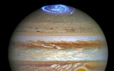 Úchvatná podívaná: Obří polární záře na Jupiteru větší než celá Země ti svou krásou vyrazí dech