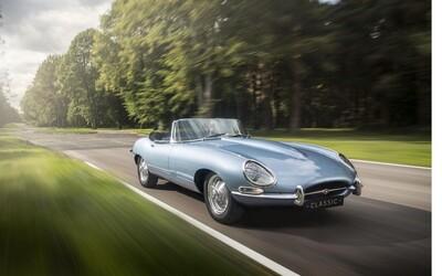 Údajně nejkrásnější automobil na světě: Jaguar E-type Zero spojuje moderní výbavu s designem ze 60. let