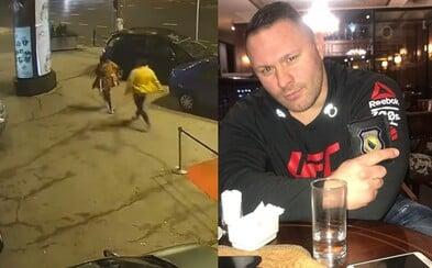 UFC bojovník vytrieskal muža, ktorý pred klubom brutálne napadol ženu a udrel ju do hlavy