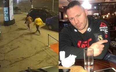 UFC bojovník zpacifikoval muže, který před klubem brutálně napadl ženu