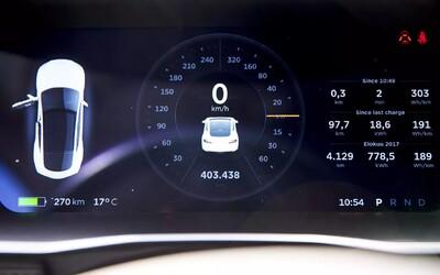 Ujel 400 000 km a z kapacity baterie ubylo jen 7 procent. Majitel Modelu S od Tesly byl mile překvapen