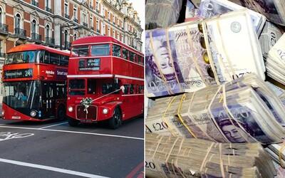 Uklízeč našel v londýnské MHD 300 tisíc liber a odnesl je na policii