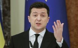 Ukrajina je pripravená na vojnu s Ruskom, bude bojovať do posledného muža, vyhlásil prezident Zelenskyj