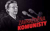 """Ukrajinské velvyslanectví v Praze vyvěsilo plakát Milady Horákové s popiskem """"Zavražděna komunisty"""""""