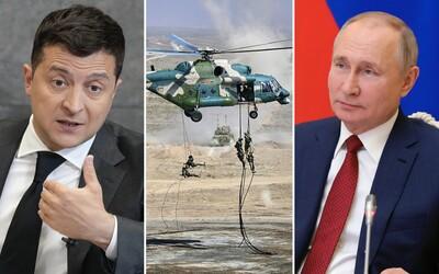 Ukrajinský prezident Volodymyr Zelenskyj nevylučuje totálnu vojnu s Ruskom