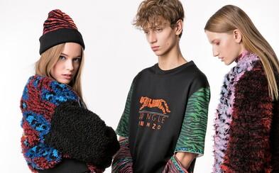 Uletená kolaborácia KENZO x H&M mieri do obchodov. Pozri si náš lookbook a rozhovor s jej tvorcami