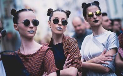 Ulice Bratislavy zaplavila móda v najdlhšej prehliadke Fashion marš!