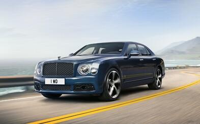 Ultra-luxusní Mulsanne a slavná 6,75litrová V8 končí. Bentley se s nimi loučí speciální edicí