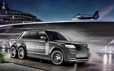 Luxusní pick-up se třemi nápravami? To je Range Rover z dílny specialisty na jachty