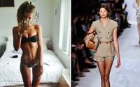 Ultraštíhlé modelky u značek jako Gucci, Louis Vuitton nebo Dior skončily. Společnosti nechtějí propagovat podvýživu