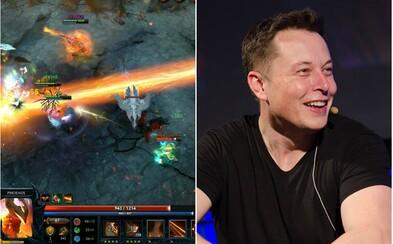 Umělá inteligence od startupu Elona Muska poprvé v historii rozdrtila ve hře Dota 2 ty nejlepší světové hráče