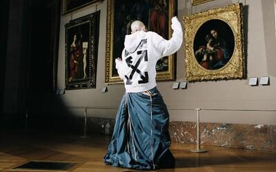 Umělecká díla přenesená do společné kolekce muzea v Louvre a Off-White