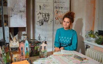Umelkyňa Katka Prídavková: Po ťahoch štetca na plátno sa moja duša stáva naplnenou. Je to stav, bez ktorého neviem existovať (Rozhovor)