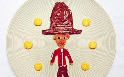 Umelkyňa sa hrá s jedlom a každé ráno vytvára kreatívne raňajky