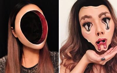 Umelkyňa vďaka fascinujúcemu mejkapu stráca vlastnú tvár v temnote. Mimi sa nebojí experimentovať ani na cudzích ľuďoch