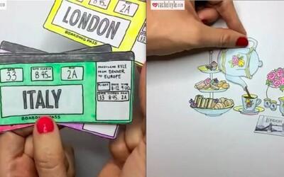 Umelkyňa vytvára úžasné animácie inšpirované miestami, ktoré navštívila