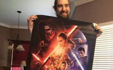 Umierajúci fanúšik Star Wars videl The Force Awakens, Disney tak splnilo jeho posledné prianie