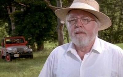 Umrel Lord Richard Attenborough, zakladateľ Jurského Parku