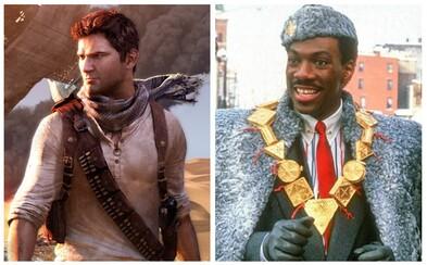 Uncharted má nového režiséra, Dark Universe je mŕtve a Eddie Murphy natočí pokračovanie komédie Coming to America