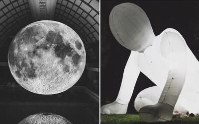 Unikátne umelecké diela zaplnili centrum Košíc. Aká bola tohtoročná Biela noc? (Fotoreport)