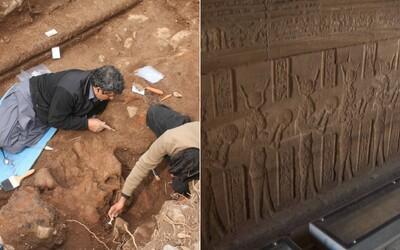Unikátní objev českých egyptologů! V Abúsíru nalezli přes 3000 let starý chrám faraona Ramesse II.