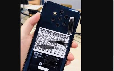 Unikl design nového telefonu Nokia. Bude mít pět fotoaparátů