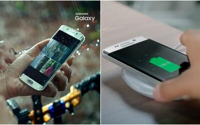Uniklé video ukazuje voděodolnost a bezdrátové nabíjení nového Samsungu Galaxy S7