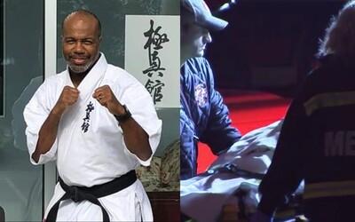 Únosce pronásledoval ženu až do karate klubu. Dostal tam takovou nakládačku, že ho museli vyvézt na nosítkách