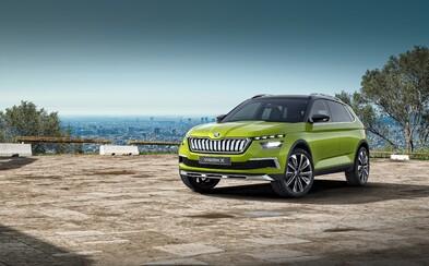 Zcela nové SUV díky atraktivním křivkám dokazuje, že Škoda začíná nabírat více odvahy