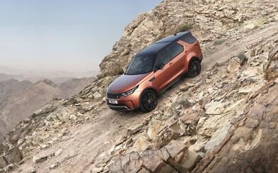 Úplně nový Land Rover Discovery odveze luxusně až 7člennou posádku, a to i v náročném terénu!