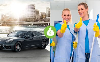 Upratovačky v Porsche dostanú 9111 eur navyše. Automobilka mala doteraz najlepší rok, svojim zamestnancom rozdáva tisíce