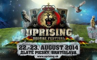 Uprising Reggae Festival 2014 už o necelý mesiac